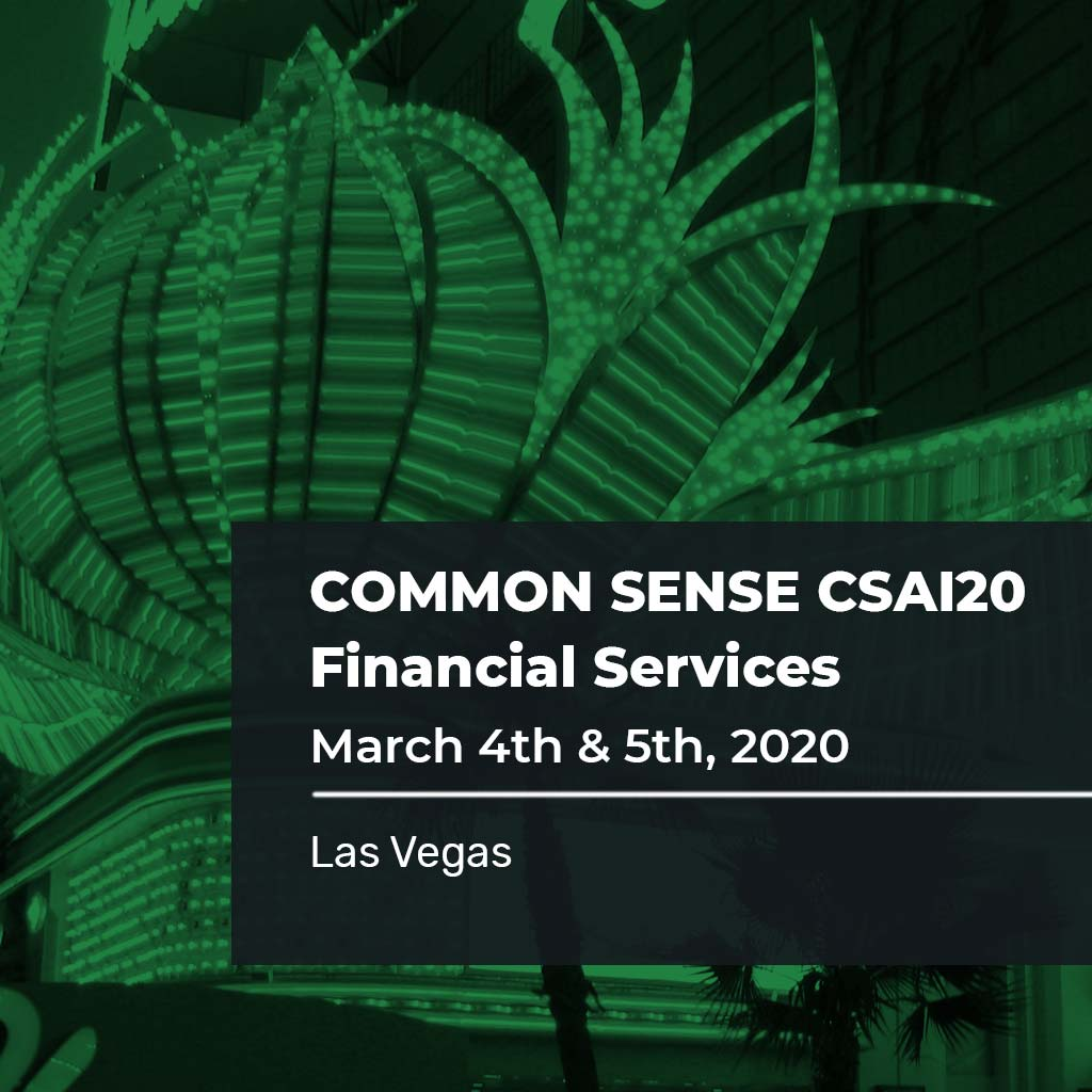 Common Sense CSAI20 Financial Services
