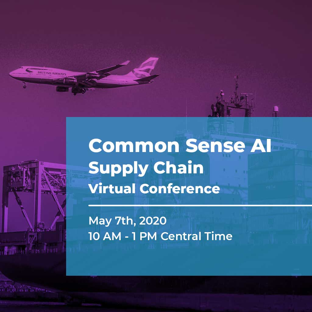 Common Sense AI Supply Chain Virtual Conference