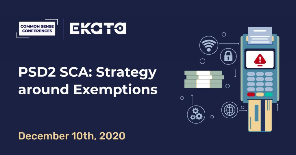 EKATA - PSD2 SCA: Strategy around Exemptions - Dec 10