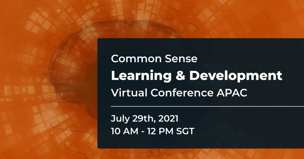 Common Sense Learning & Development Virtual Conference APAC