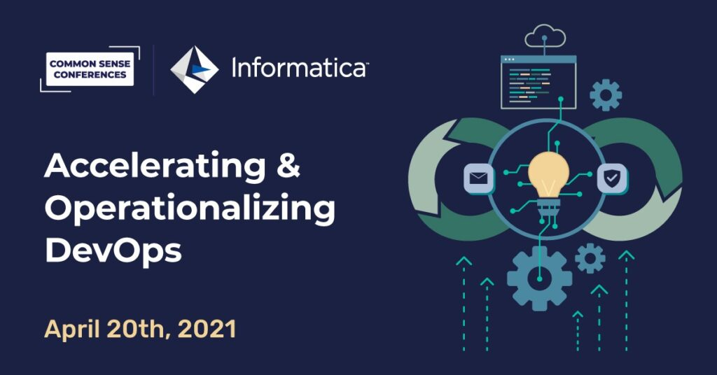 Informatica - Accelerating & Operationalizing DevOps