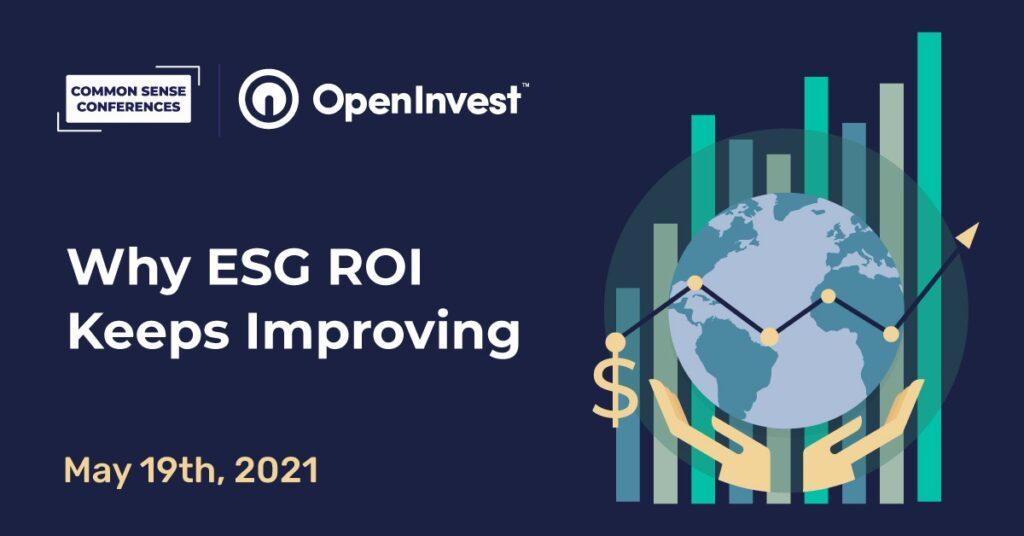 OpenInvest - Why ESG ROI Keeps Improving