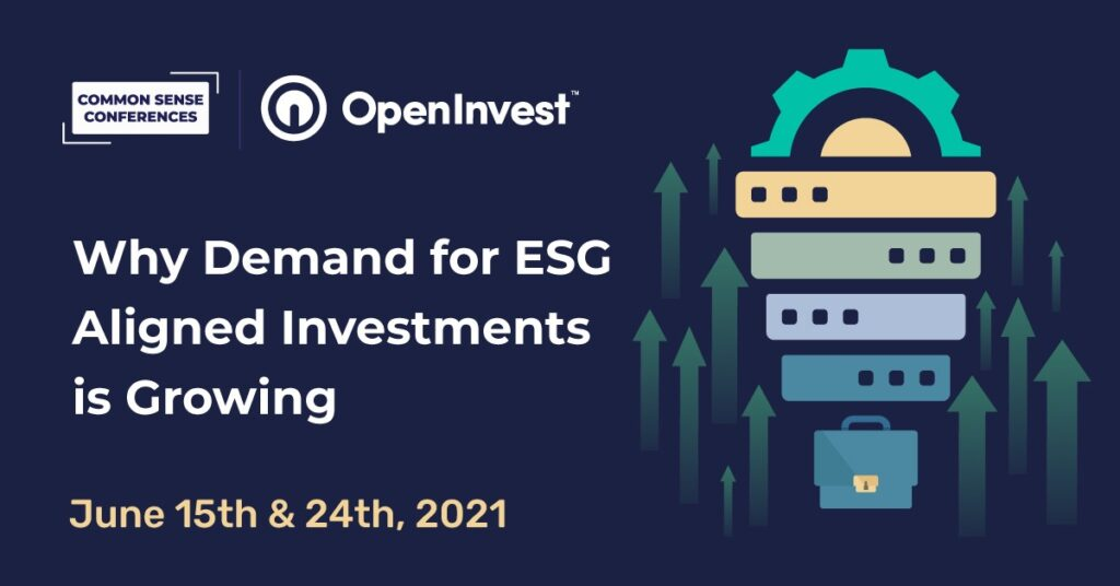 OpenInvest - Why Demand for ESG Aligned Investments is Growing