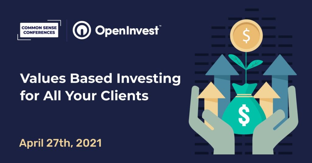 OpenInvest - Values Based Investing for All Your Clients