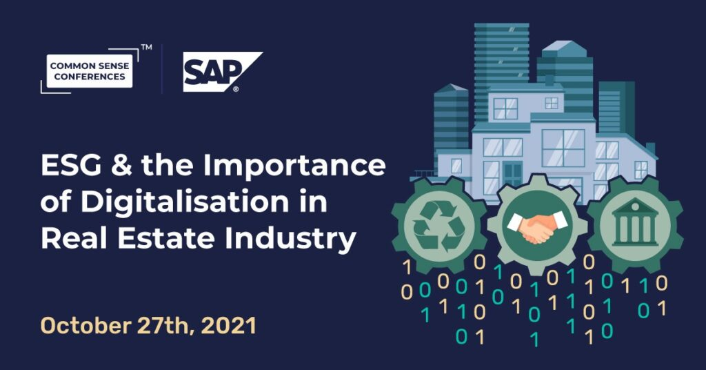 SAP - ESG & the Importance of Digitalisation in Real Estate Industry