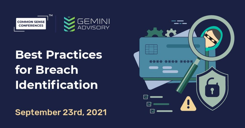 Gemini Advisory - Best Practices for Breach Identification