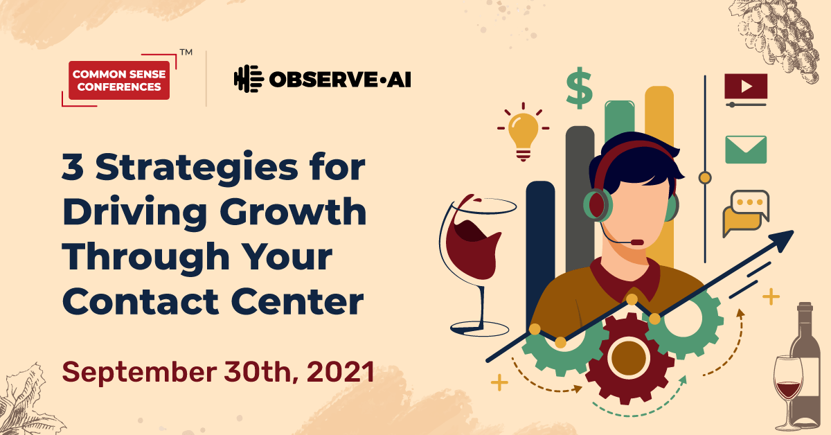Observe.AI - 3 Strategies for Driving Growth Through Your Contact Center