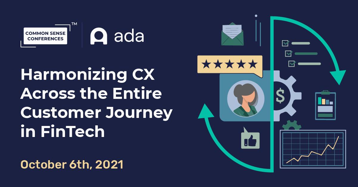 Ada - Harmonizing CX Across the Entire Customer Journey in FinTech