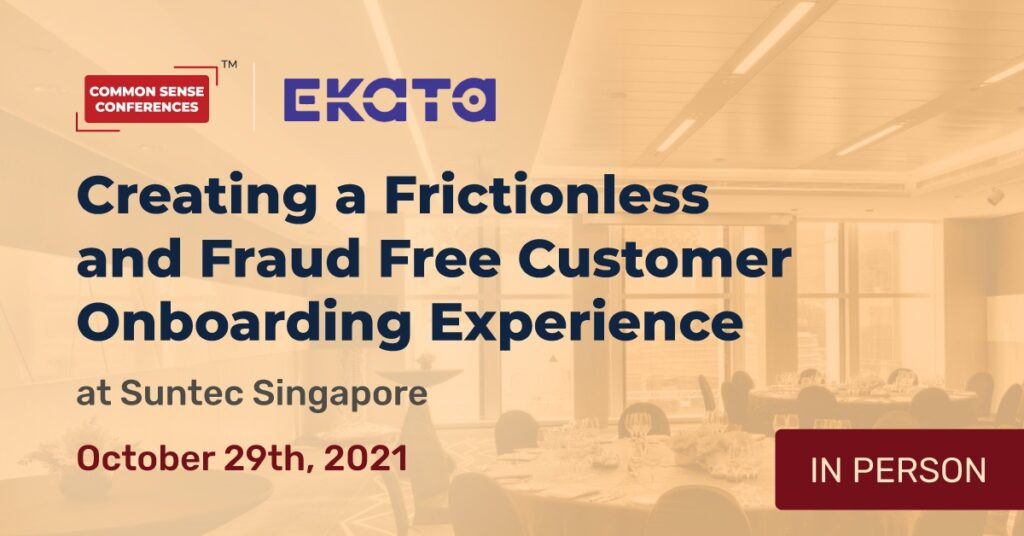 Ekata - Creating a Frictionless and Fraud Free Customer Onboarding Experience